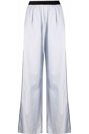 Karl Lagerfeld Logo-embroidered pajama trousers