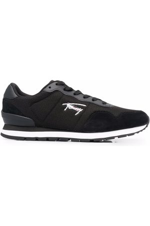 Tommy Jeans Men Sneakers - Lace-up mixed panel trainers