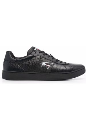 Tommy Hilfiger Men Sneakers - Leather cupsole signature trainers