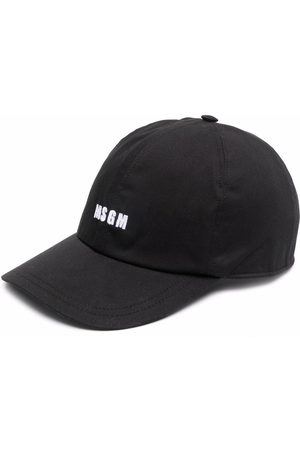 Msgm Men Hats - Logo-print cap