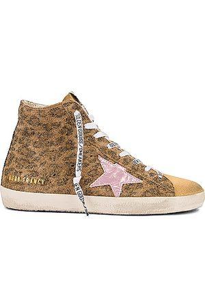 Golden Goose Francy Sneaker in Salmon & Mazarine