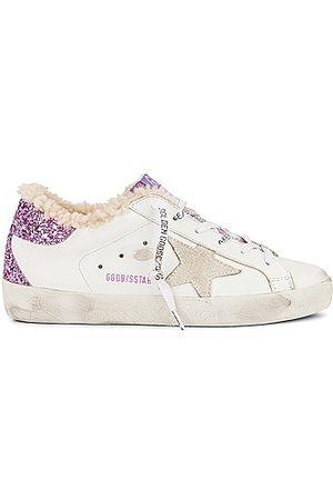 Golden Goose Super Star Sneaker in & Lavender