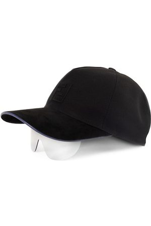 Fendi Injected Hat & Sunglasses Hybrid