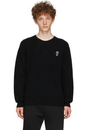 Alexander McQueen Cashmere Beaded Skull Sweater