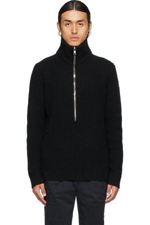Moncler Knit Half-Zip Sweater