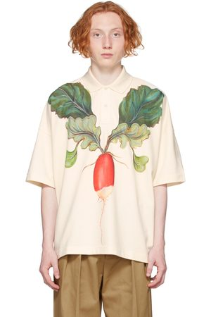 JW Anderson Off-White Oversized Veggie Polo