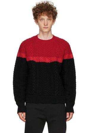Alexander McQueen & Aran Knit Bi-color Sweater