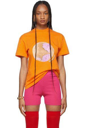 Jacquemus Orange La Montagne 'Le T-Shirt Monde' T-Shirt