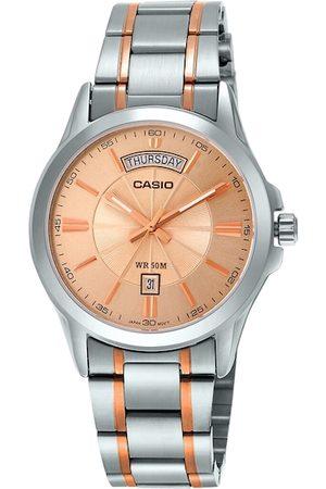 Casio Men Rose Gold Analogue Watch A1771