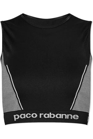 Paco rabanne Cropped Sports Top