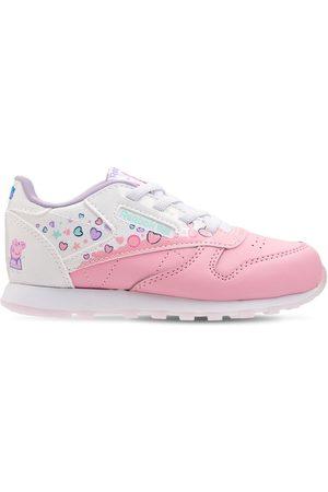 Reebok Girls Sneakers - Peppa Pig Lace-up Sneakers