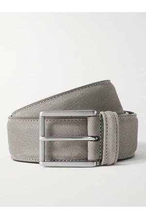 Anderson's Men Belts - 4cm Suede Belt