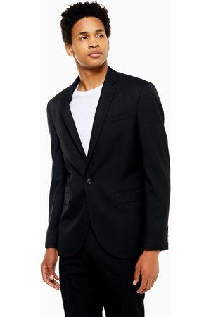 Topman Slim single breasted suit jacket in