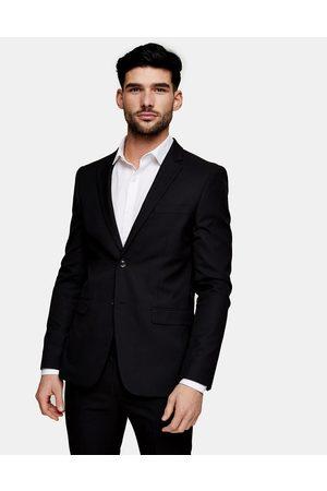 Topman Skinny single breasted suit jacket in