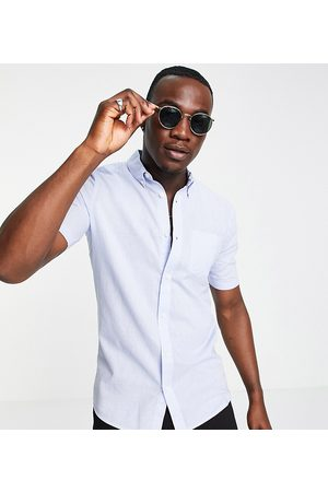 French Connection Tall linen shirt with short sleeve