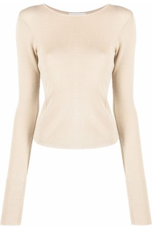 LEMAIRE Women Long Sleeve - Round-neck long-sleeve top