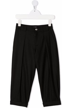 Balmain Formal Trousers - TEEN wool-blend tapered trousers