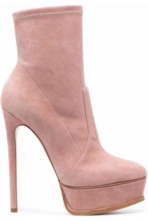 Casadei Stiletto-heel platform ankle boots