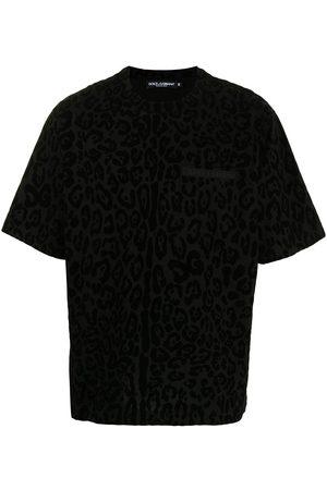 Dolce & Gabbana Leopard-print cotton T-shirt