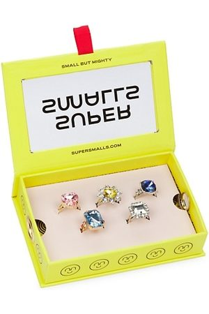 Super Smalls Girls Rings - Power Lunch Ring Set