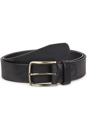 Saks Fifth Avenue Men Belts - Buckled Leather Belt