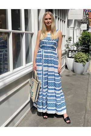 Bleue Resort Women Maxi Dresses - Embroidered Maxi Dress