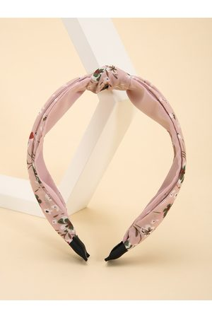 YOINS Calico Knotted Hair Hoop