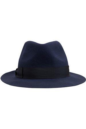 BORSALINO Brushed Felt Fedora Hat
