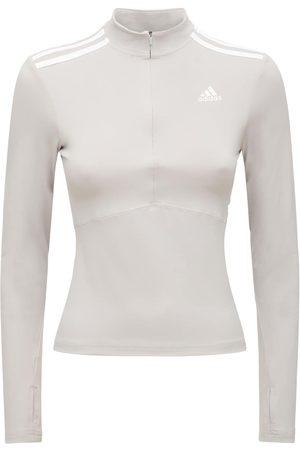 adidas Women Long Sleeve - Long Sleeve Zip-up Sweatshirt