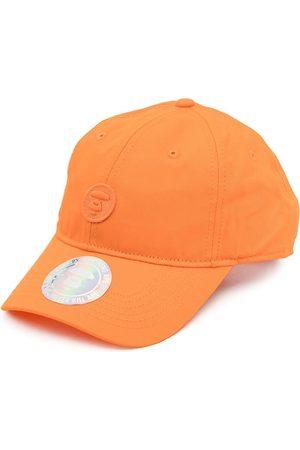 AAPE BY A BATHING APE Logo-patch cotton cap