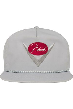 Rhude Classic Logo Hat Grey