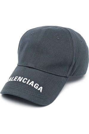 Balenciaga Logo Visor Cap Grey