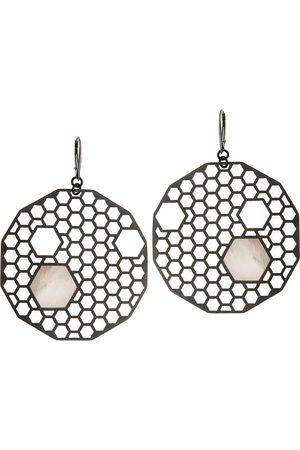 Orska Apis Oxidised Earrings