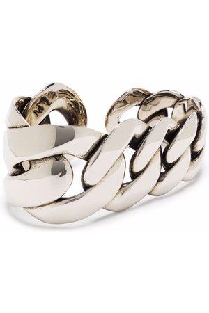Alexander McQueen MEN'S 663705J160Y0446 METAL RING