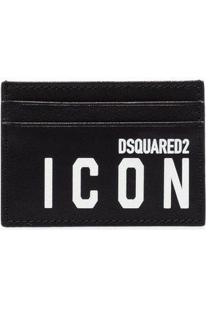 Dsquared2 Men Wallets - Icon Logo Card Holder Black