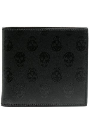 Alexander McQueen Men Wallets - Skull Print Wallet
