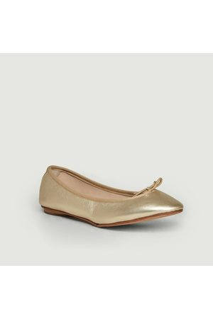 Bagllerina Gorgeous foldable ballerinas Bronze