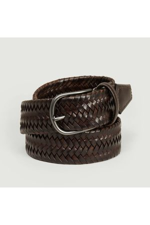 Anderson's Elasticated braided leather belt PL97 M1