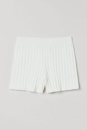 H&M Women Shorts - Ribbed shorts