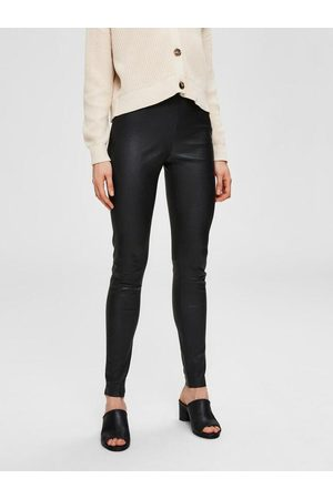Selected Femme - Sylvia Stretch Lamb Leather Leggings