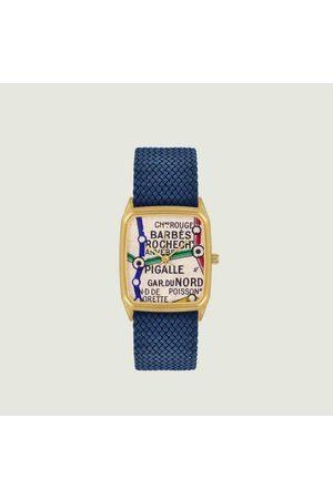 Laps Barb s Perlon Watch Cobalt