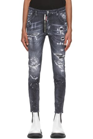 Men Jeans - Dsquared2 Ripped Wash Twinky Jeans