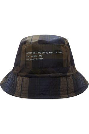 Moncler Genius 7 Moncler FRGMT Hiroshi Fujiwara Reversible Blackwatch Bucket Hat