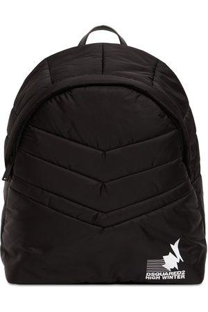 Dsquared2 Men Rucksacks - Padded Nylon Backpack