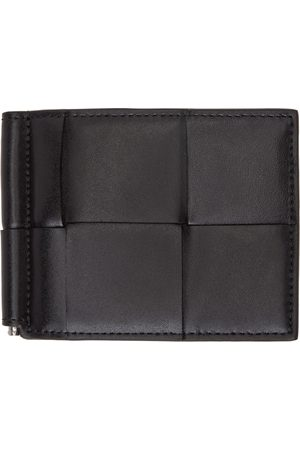 Bottega Veneta Intrecciato Bill Clip Bifold Wallet