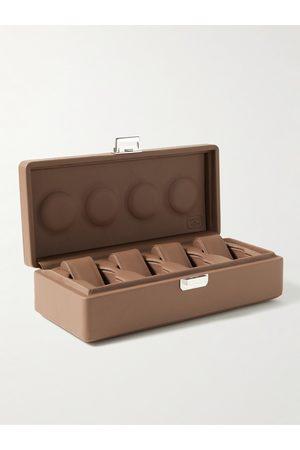 Scatola del Tempo Full-Grain Leather Watch Box