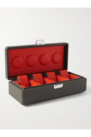 Scatola del Tempo Men Watches - Full-Grain Leather Watch Box