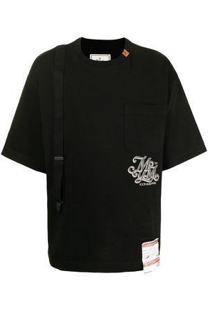 Maison Mihara Yasuhiro Slogan-print cotton shirt