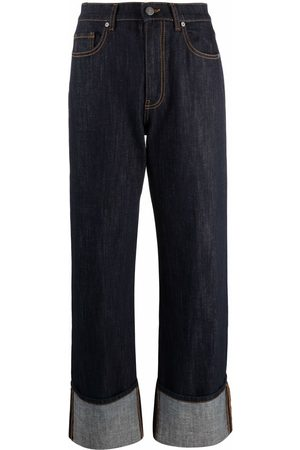 P.a.r.o.s.h. Women Bootcut & Flares - Rolled-cuff jeans