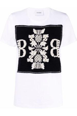 Barrie Women Short Sleeve - Embroidered logo cotton T-shirt